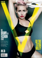 Miley Cyrus By Martio Testino for V Magazine 2013 [Photos:Video] 01