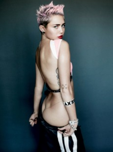 MILEY CYRUS BY MARTIO TESTINO FOR V MAGAZINE 2013 pics 03
