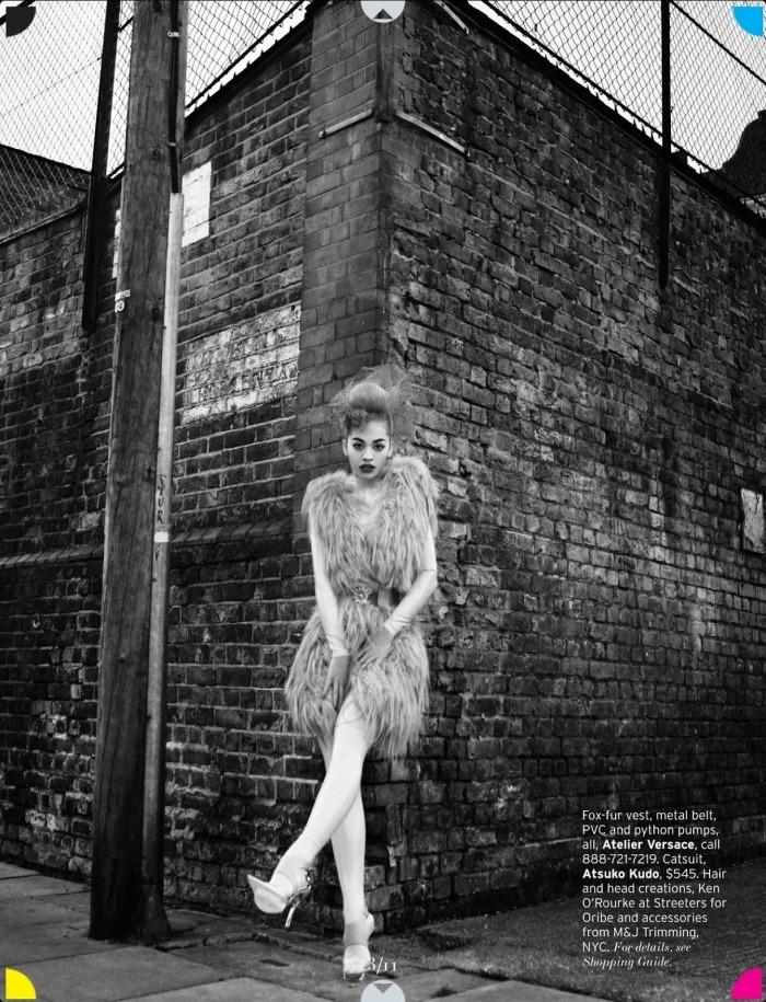 Rita Ora for Elle Magazine May 2013 [Photos:Music] 11