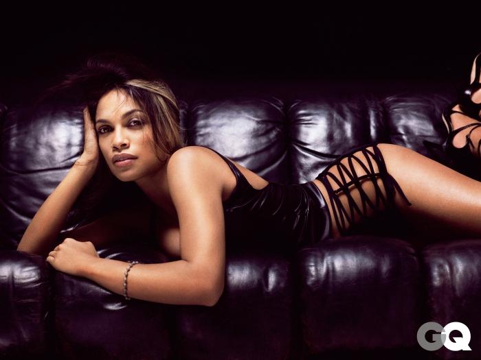 Sexy Rosario Dawson for GQ [Photos Video] 01