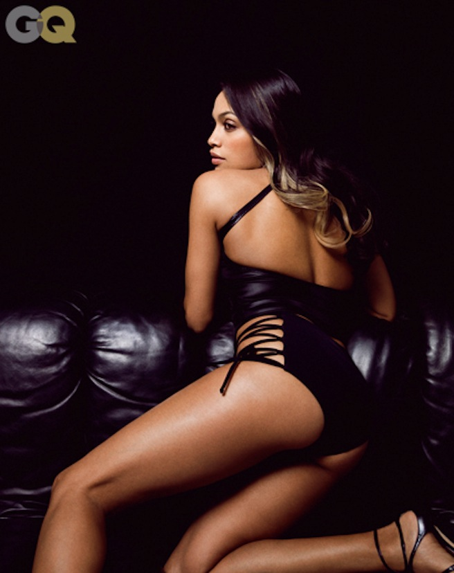 Sexy Rosario Dawson for GQ [Photos:Video] 04