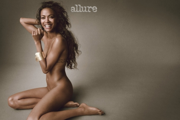 Star Trek's Zoe Saldana – Allure Magazine Photoshoot June 2013 [Photos:Video] 01