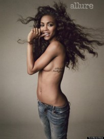 Star Trek's Zoe Saldana – Allure Magazine Photoshoot June 2013 [Photos:Video] 02