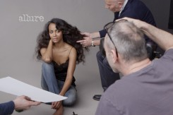 Star Trek's Zoe Saldana – Allure Magazine Photoshoot June 2013 [Photos:Video] 05