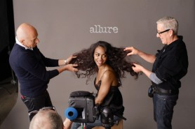 Star Trek's Zoe Saldana – Allure Magazine Photoshoot June 2013 [Photos:Video] 06