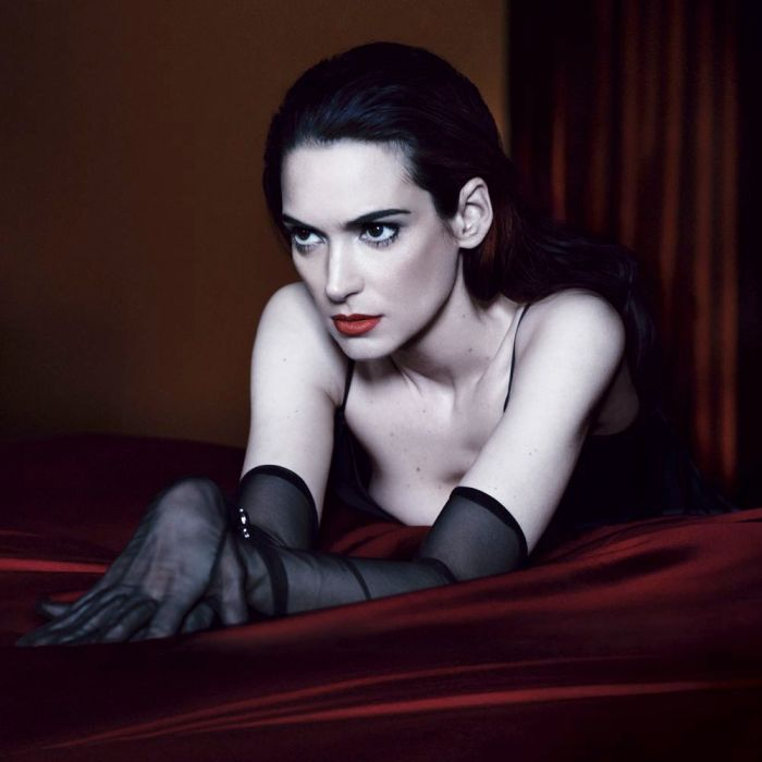Winona Ryder's Dark side for Interview Magazine May 2013 [Photos] 02
