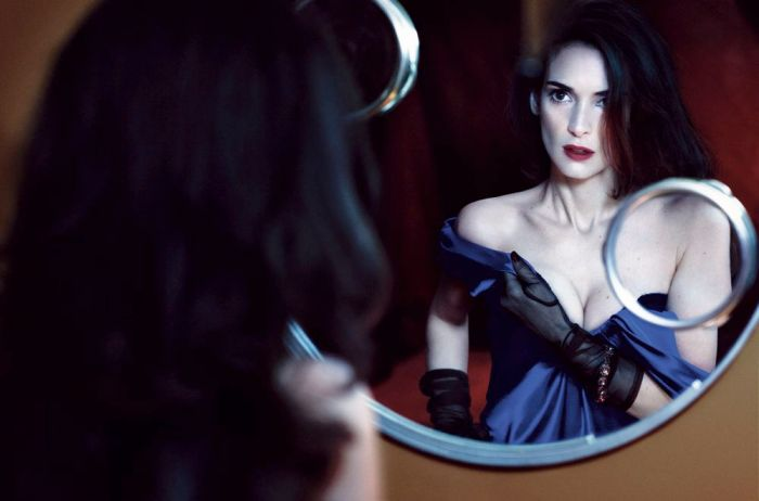 Winona Ryder's Dark side for Interview Magazine May 2013 [Photos] 05