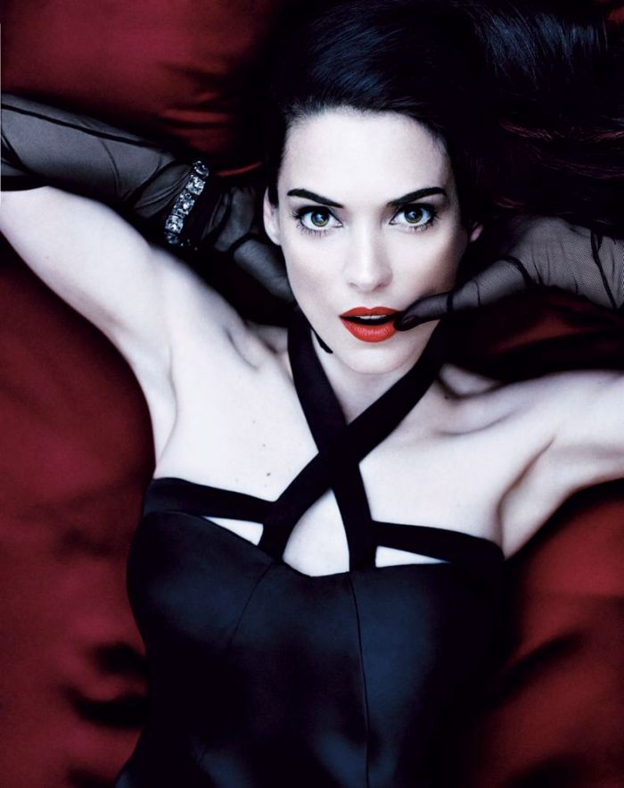 Winona Ryder's Dark side for Interview Magazine May 2013 [Photos] 06