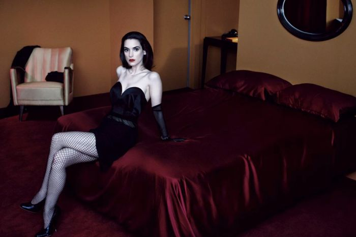 Winona Ryder's Dark side for Interview Magazine May 2013 [Photos] 08