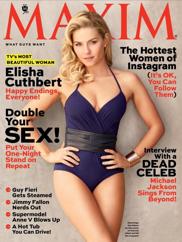 Elisha Cuthbert- Maxim's Most Beautiful Woman on TV 2013 [Photos] 01