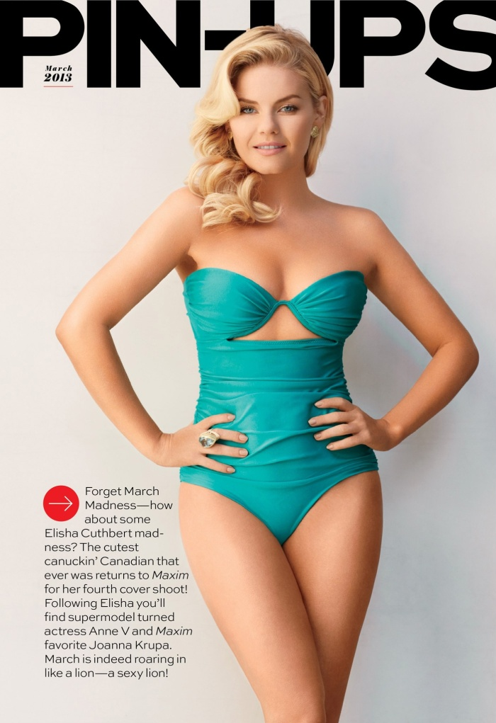 Elisha Cuthbert- Maxim's Most Beautiful Woman on TV 2013 [Photos] 02
