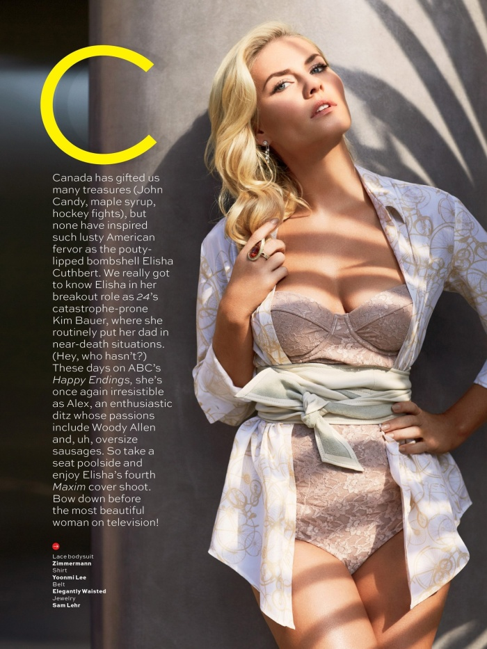 Elisha Cuthbert- Maxim's Most Beautiful Woman on TV 2013 [Photos] 06