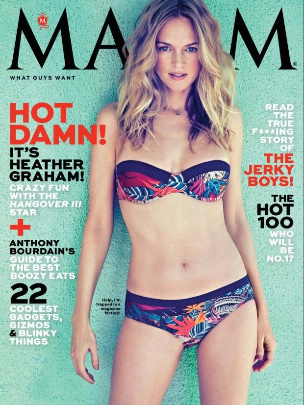 Heather Graham's Hot Maxim Cover Shoot 2013 [Photos] 01