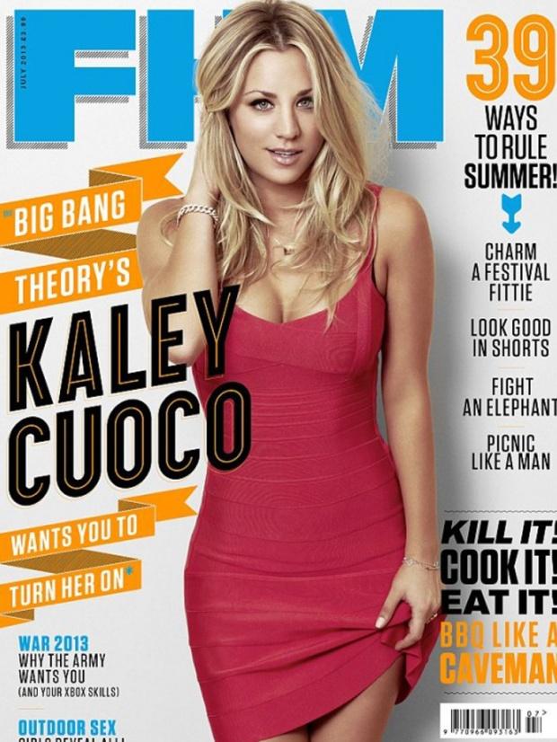 Kaley Cuoco Sexy FHM Magazine UK July 2013 [Photos] 01
