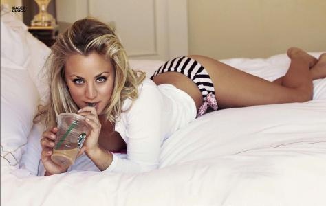 Kaley Cuoco Sexy FHM Magazine UK July 2013 [Photos] 04