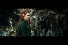 Evangeline Lilly as the Elf Tauriel: