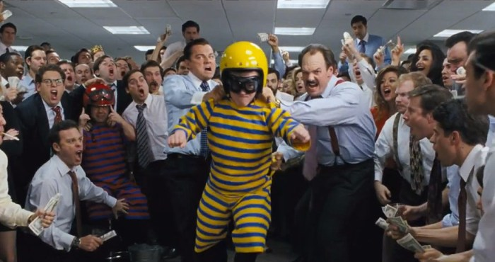 The Wolf of Wall Street Trailer [Movies] dwarf