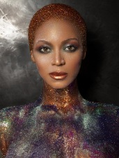 Beyonce Sparkles naked for Flaunt Magazine - 01