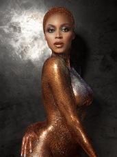 Beyonce Sparkles naked for Flaunt Magazine - 02