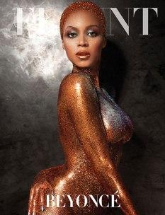 Beyonce Sparkles naked for Flaunt Magazine - 04
