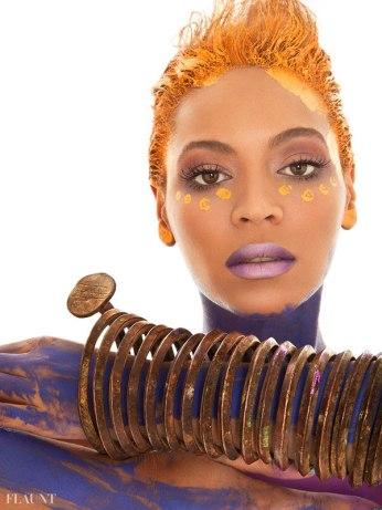 Beyonce Sparkles naked for Flaunt Magazine - 06