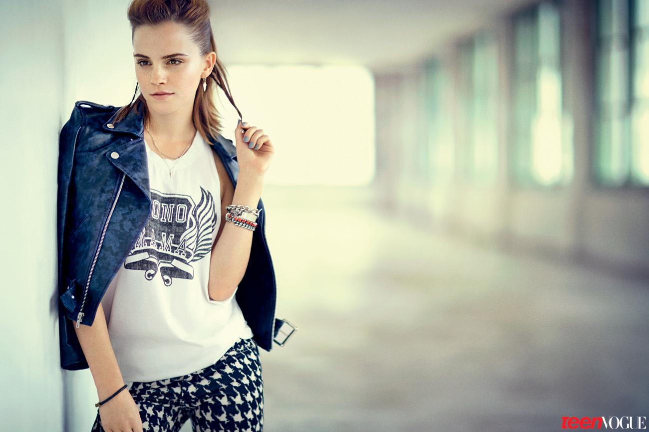 Emma Watson For Teen Vogue August