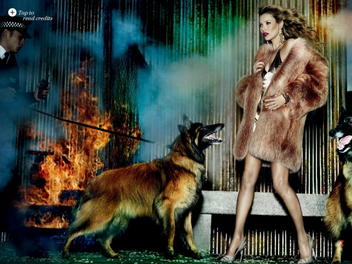 Kate Moss Allure August 2013