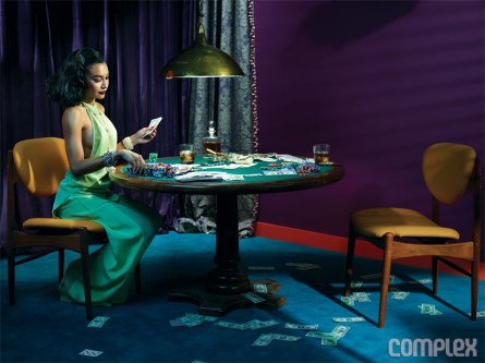 Naya Rivera for Complex 2013- Stakes Is High - 01