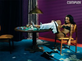 Naya Rivera for Complex 2013- Stakes Is High - 03