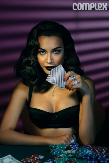 Naya Rivera for Complex 2013- Stakes Is High - 05