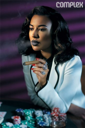 Naya Rivera for Complex 2013- Stakes Is High - 13