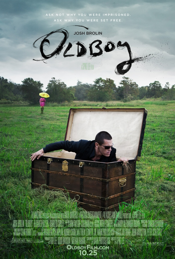 Oldboy - Red Band Trailer | Josh Brolin Hammers Out Revenge poster