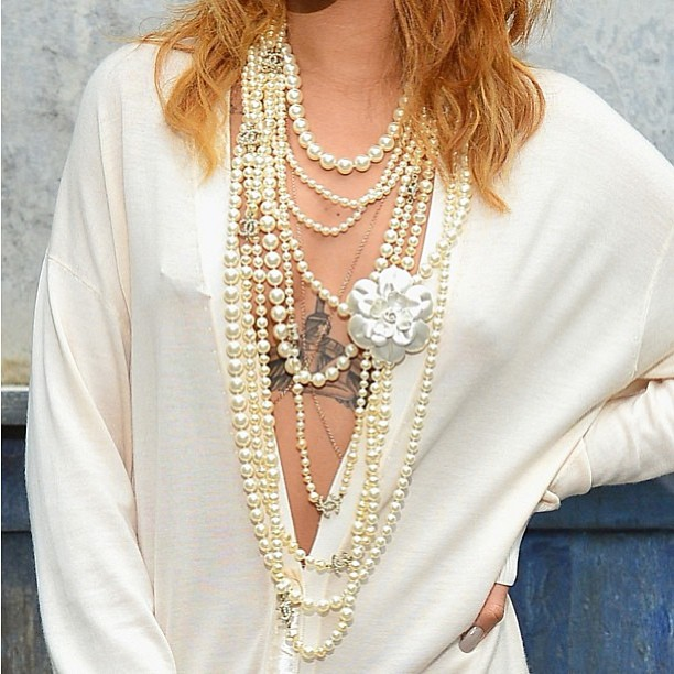 Rihanna at the Chanel Couture show in Paris 03 nipple piercing