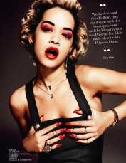 Rita Ora for Interview Magazine August 2013 [Photos] - 01