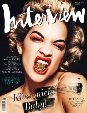 Rita Ora for Interview Magazine August 2013 [Photos] - 06