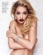 Rita Ora Topless for British GQ August 2013 - 05