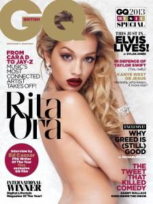 Rita Ora Topless for British GQ August 2013 - 09