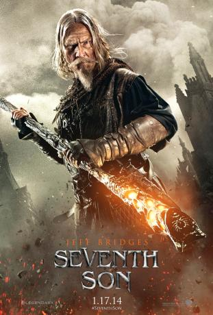 Seventh Son Trailer | Jeff Bridges fighting Dragons Poster