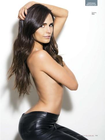 Sexy Jordana Brewster GQ Mexico Magazine July 2013 01