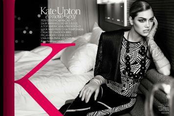 Stunning Kate Upton for Vogue Brasil July 2013 - 07