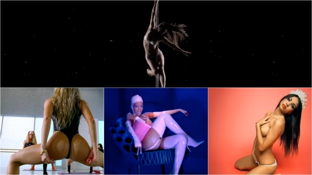 Top Most Controversially Sexy Music Videos NSFW feat