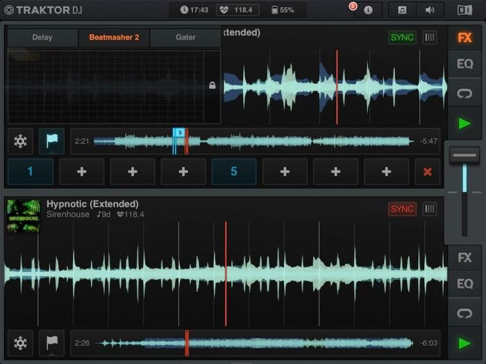Traktor DJ for iPad