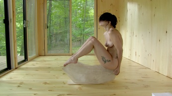 Watch Lady Gaga Naked in Marina Abramovic's Art Piece | NSFW-08
