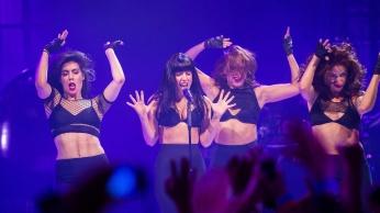 Lady Gaga's Spectacular iTunes Festival 2013 Show-06