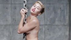 Miley Cyrus Wrecking Ball [Music Video] 05