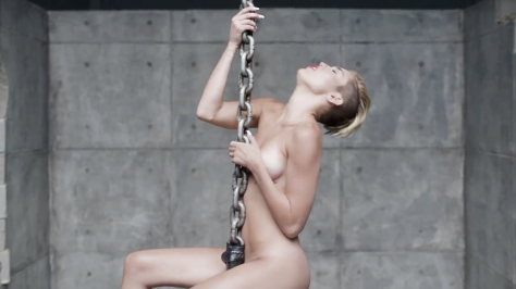 Miley Cyrus Wrecking Ball [Music Video] 09