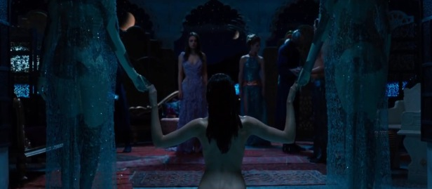 Jupiter Ascending Mila and Naked girl