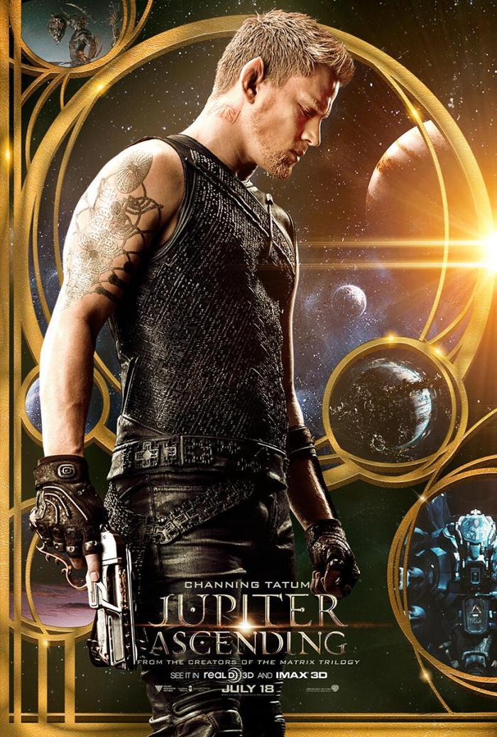 Jupiter Ascending Trailer 2 Poster Tatum