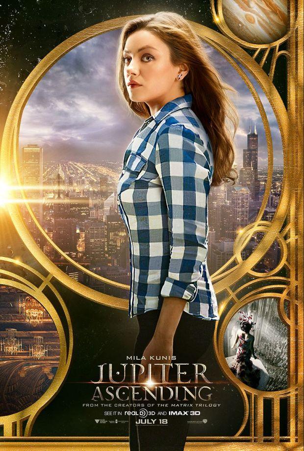 Jupiter Ascending Trailer poster Mila