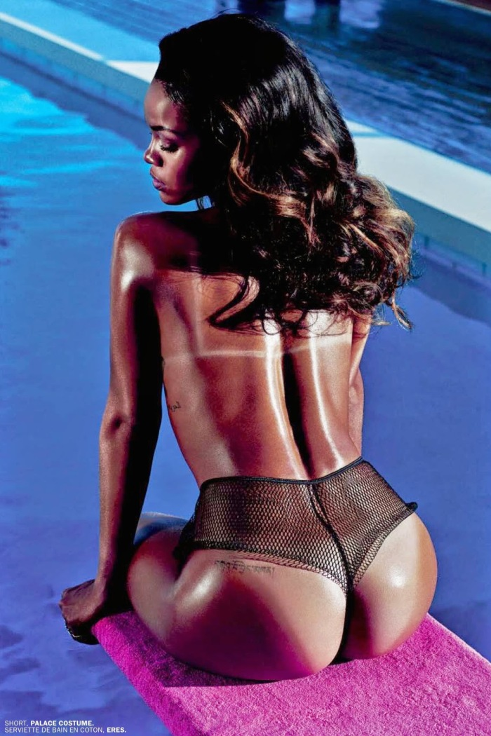 Rihanna Goes Naked for Lui Magazine 03